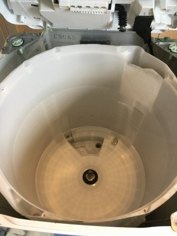 洗濯機クリーニング縦型 日立 BW-10TV 洗浄後