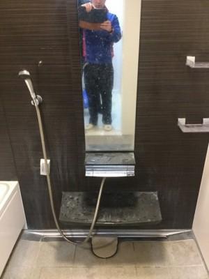 浴室クリーニング-洗浄前