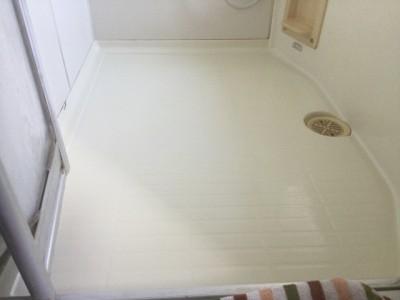 浴室クリーニング_お風呂の床洗浄後