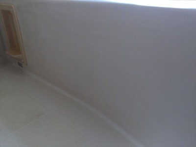 浴槽の側面部 浴室クリーニング
