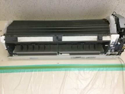 三菱ルームエアコン MSZ- 通常分解 エアコンクリーニング