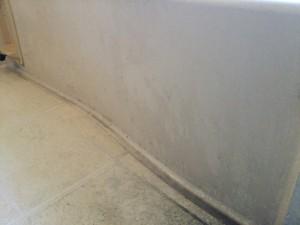 浴槽の側面部 お風呂掃除