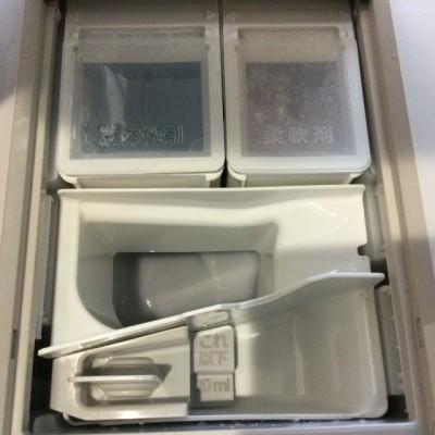 パナソニック NA-VX9900L 洗剤投入口 洗浄後