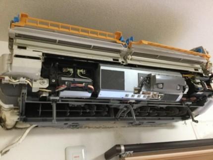 AN63NRP エアコン分解 ハウスクリーニング