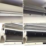 エアコンクリーニング パナソニック CS-361CF2-W ハウスクリーニング専門店のおそうじ本舗 都城市