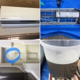 お掃除機能付き エアコン掃除 三股町 Panasonic CS-403CXR2-W