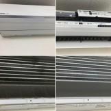 エアコンクリーニング パナソニック CS-805CX2-W ハウスクリーニング専門店のおそうじ本舗 都城市
