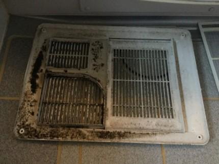 浴室乾燥機 カビ汚れ