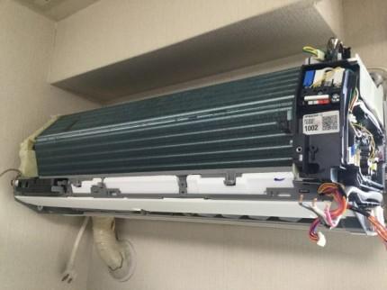 ダイキン エアコンクリーニング お掃除機能付きタイプ