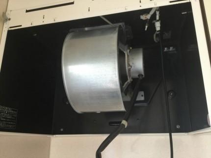 換気扇クリーニング 組立中 DIY