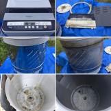 洗濯機クリーニング 都城市 パナソニック NA-F70PB6