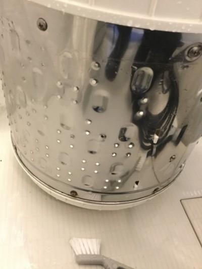 洗濯層クリーニング カビ落とす