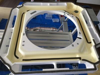 天井埋込タイプ 三菱電機 エアコン掃除 ドレンパン