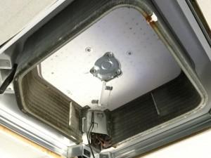 天井埋込タイプ 三菱電機 エアコン掃除 アルミフィン