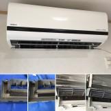 エアコンクリーニング お掃除機能付き 日立 RAS-S40D2(W) 都城市 料金