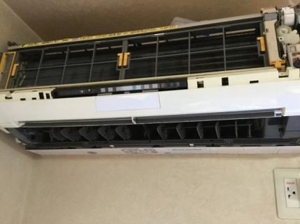HITACHI RAS-S56B2のお掃除ユニット