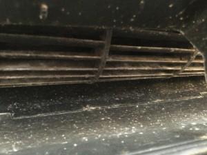 RAS402PRS ファンの汚れ 洗浄前