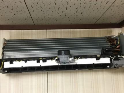日立 Wシリーズの分解洗浄 エアコン掃除