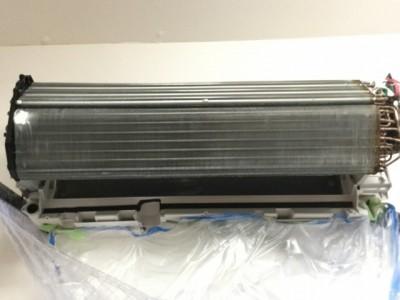 RAS_X Xシリーズ 日立 フィルター掃除運転 シロッコファン外し 洗浄後