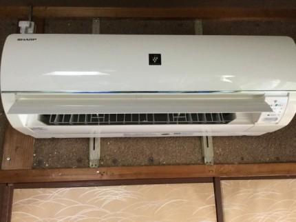 エアコンクリーニング(お掃除機能付き) シャープ AY-D40EX-W おそうじ本舗 都城市