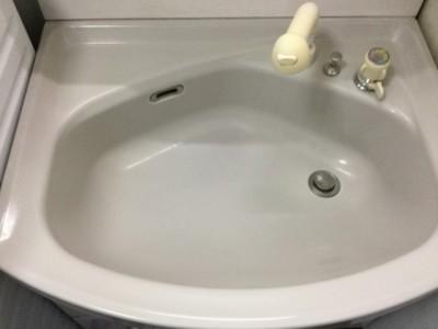 洗面台クリーニング ハウスクリーニング専門店おそうじ本舗 都城市 三股町 洗浄後