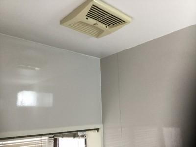 浴室クリーニング 天井のカビ汚れ 洗浄後