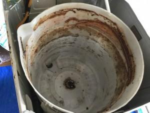 TOSHIBA AWシリーズ 分解洗浄 洗濯機縦型