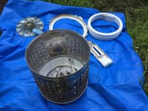TOSHIABA 洗濯機のパーツ 洗浄 洗濯機縦型