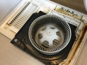 浴室乾燥機クリーニング マックス株式会社 UFD-111A 洗浄前