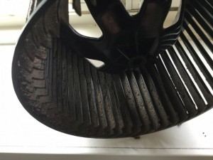 浴室乾燥機のシロッコファン カビ
