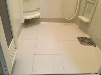 床の汚れ お風呂のお掃除 洗浄後